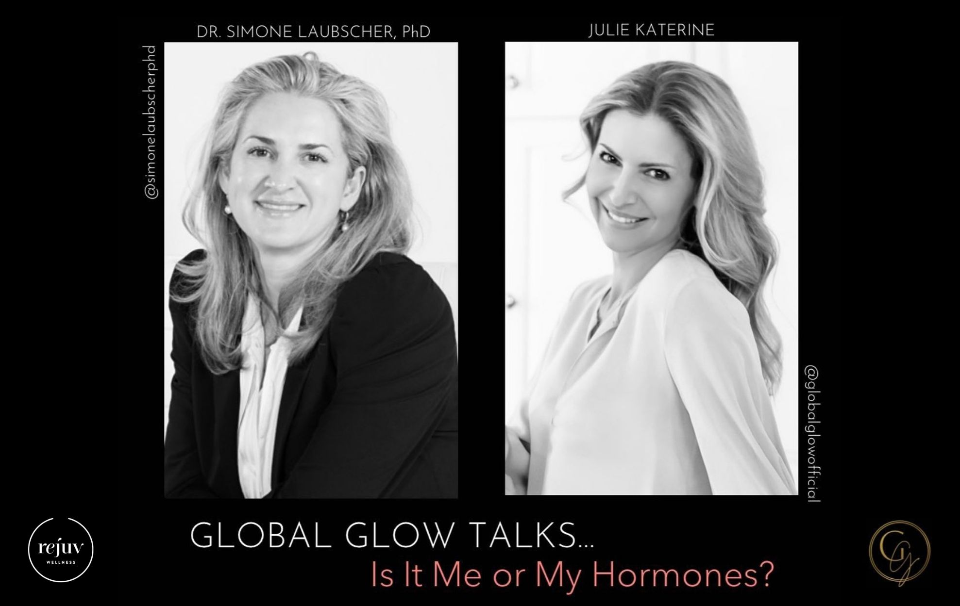 Balance Your Hormones Global Glow Simone Laubscher Julie Katerine